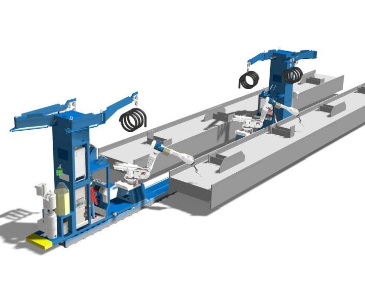 beam-welding-cell