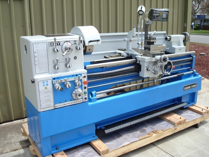 Toptec C6246 Lathe 460mm Swing Industrial Machinery