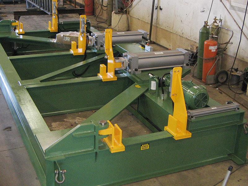 beam cambering machine