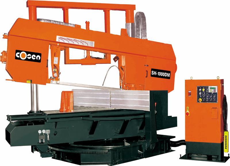 1000mm Cosen Sh 1000dm Bandsaw Semi Auto Industrial